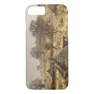 Coque iPhone 8/7 Montagnes de Nuba, village de Nugera