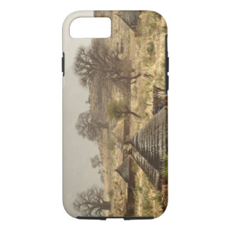 Coque iPhone 8/7 Montagnes de Nuba, village de Nugera