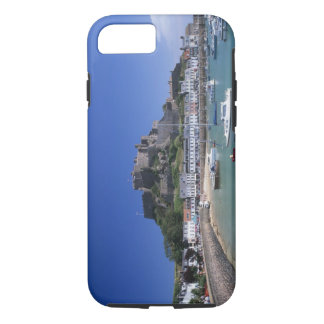 Coque iPhone 8/7 Montez le château d'Orgueil et hébergez, Gorey,