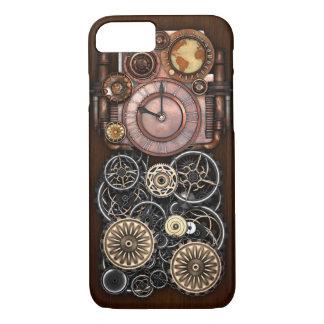 Coque iPhone 8/7 Montre de Steampunk Redux