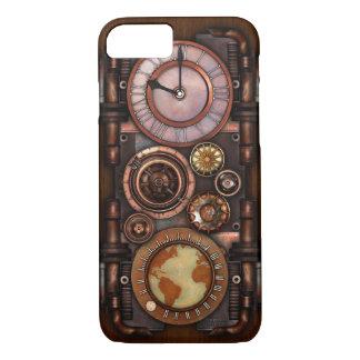 Coque iPhone 8/7 Montre vintage #1 de Steampunk