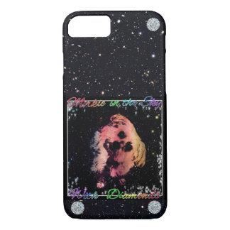 Coque iPhone 8/7 Morkie dans des diamants du ciel W téléphonent à
