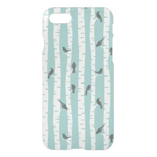 Coque iPhone 8/7 Motif avec des oiseaux et des arbres