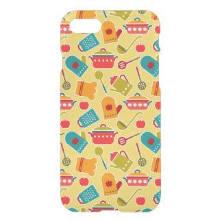 Coque iPhone 8/7 Motif coloré des ustensiles de cuisine