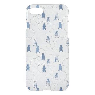Coque iPhone 8/7 motif comportant un ours gris