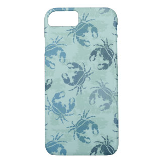 Coque iPhone 8/7 Motif de colorant de cravate des crabes