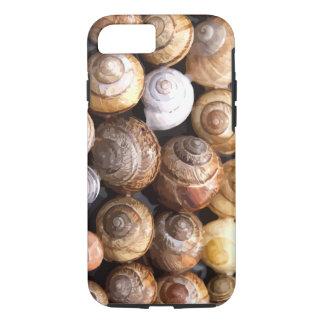 Coque iPhone 8/7 Motif de coquillages de nature de plage