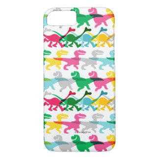 Coque iPhone 8/7 Motif de couleur de Dino
