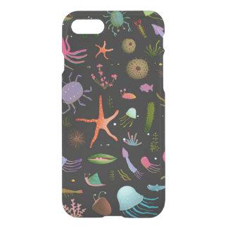 Coque iPhone 8/7 Motif de créatures de mer