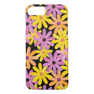 Coque iPhone 8/7 Motif de fleurs de Gerbera, arrière - plan