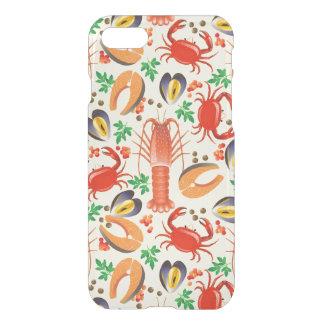 Coque iPhone 8/7 Motif de fruits de mer