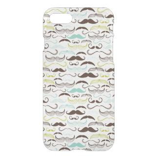 Coque iPhone 8/7 Motif de moustache, rétro style 2