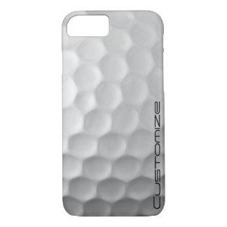 Coque iPhone 8/7 Motif de texture de fossettes de boule de golf