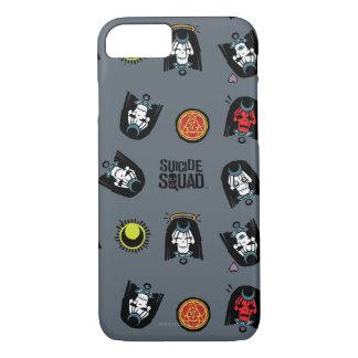 Coque iPhone 8/7 Motif d'Emoji d'enchanteresse du peloton | de