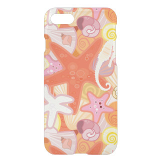 Coque iPhone 8/7 Motif en pastel de créature de mer