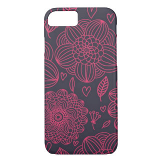 Coque iPhone 8/7 Motif floral