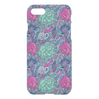 Coque iPhone 8/7 Motif floral coloré de griffonnage