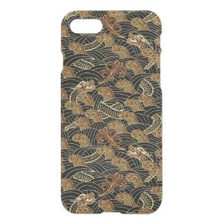 Coque iPhone 8/7 Motif oriental de dragon de mer
