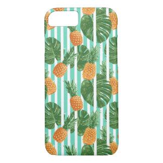 Coque iPhone 8/7 Motif sans couture de vecteur tropical vintage
