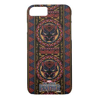 Coque iPhone 8/7 Motif tribal de tête de panthère de la panthère