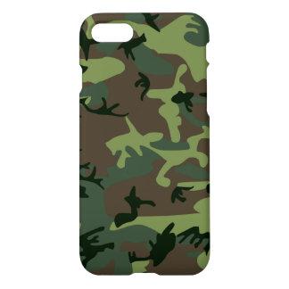 Coque iPhone 8/7 Motif vert de Camo Brown de camouflage