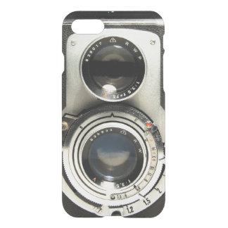 Coque iPhone 8/7 Motif vintage d'appareil-photo - vieux regard