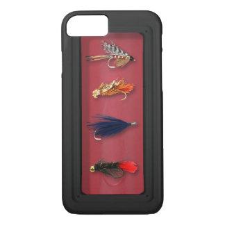 Coque iPhone 8/7 Mouches de pêche de mouche