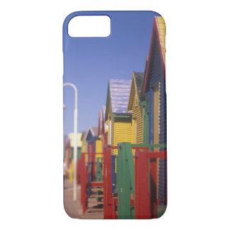 Coque iPhone 8/7 Muizenburg baignant des boîtes, près de Capetown,