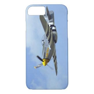 Coque iPhone 8/7 Mustang nord-américain de P-51D, petit cheval