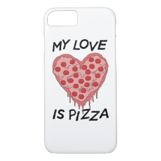 Coque iPhone 8/7 My Love I pizza