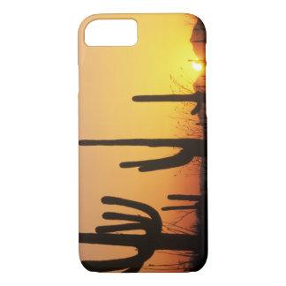 Coque iPhone 8/7 N.A., Etats-Unis, AZ, Saguaro NP, coucher du