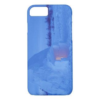 Coque iPhone 8/7 Na, Canada, Manitoba, Churchill. Igloo arctique