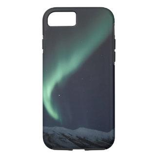 Coque iPhone 8/7 Na, Etats-Unis, Alaska, Bach-Streckennordlichter,
