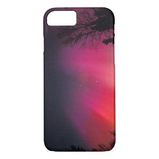 Coque iPhone 8/7 Na, Etats-Unis, Alaska, Fairbanks, rideaux de rose