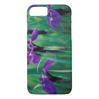 Coque iPhone 8/7 Na, Etats-Unis, Alaska, île de chevalier, iris