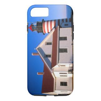 Coque iPhone 8/7 Na, Etats-Unis, Maine.  Phare occidental de Quoddy