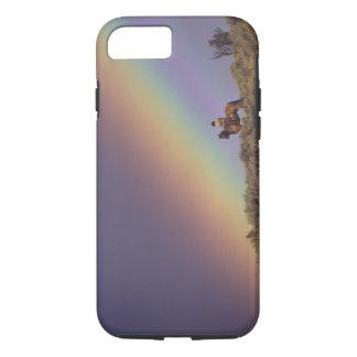 Coque iPhone 8/7 Na, Etats-Unis, Orégon, Sénèque, ranch de