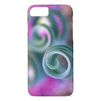 Coque iPhone 8/7 Namaqualand du sud, feuille courbé de lis. Crédit
