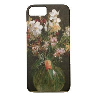 Coque iPhone 8/7 Narcisses Blancs, Jacinthes et Tulipes, 1864