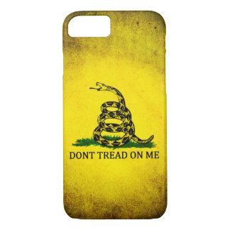 Coque iPhone 8/7 Ne marchez pas sur moi le drapeau de Gadsden -
