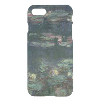 Coque iPhone 8/7 Nénuphars de Claude Monet | : Réflexions vertes
