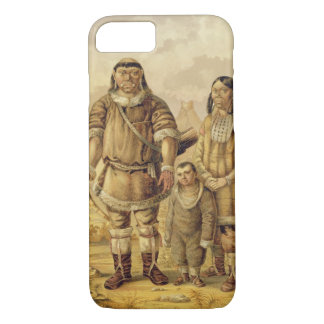 Coque iPhone 8/7 Nomades de Chukchi, gravés par Winckelmann et fils