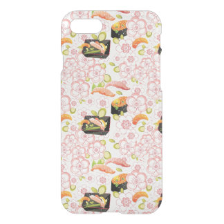 Coque iPhone 8/7 Nourriture japonaise : Motif 2 de sushi