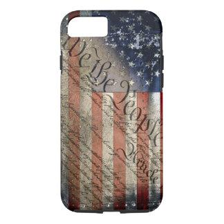 Coque iPhone 8/7 Nous le cas vintage de l'iPhone 6 de drapeau