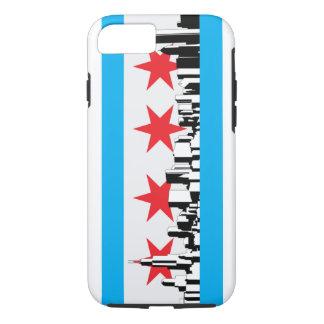 Coque iPhone 8/7 Nouveau drapeau de Chicago