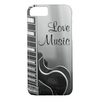 Coque iPhone 8/7 NOUVEL iPhone personnalisable de musique d'amour