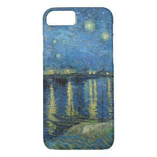 Coque iPhone 8/7 Nuit étoilée de Vincent van Gogh au-dessus du