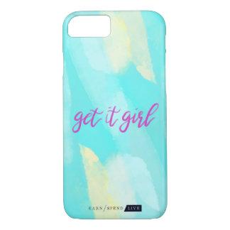 Coque iPhone 8/7 Obtenez-lui le cas de téléphone de fille