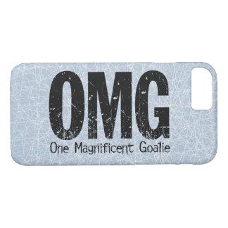 Coque iPhone 8/7 OMG : Un gardien de but magnifique (hockey)
