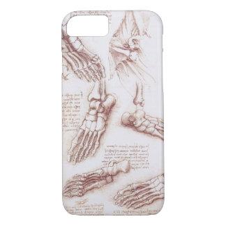 Coque iPhone 8/7 Os de pied squelettiques d'anatomie humaine par da